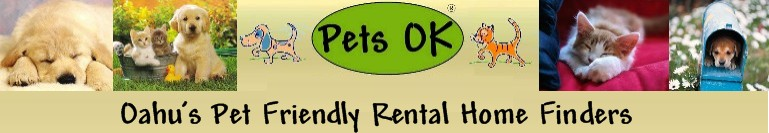 Pets OK Hawaii apartment and home rental listing service